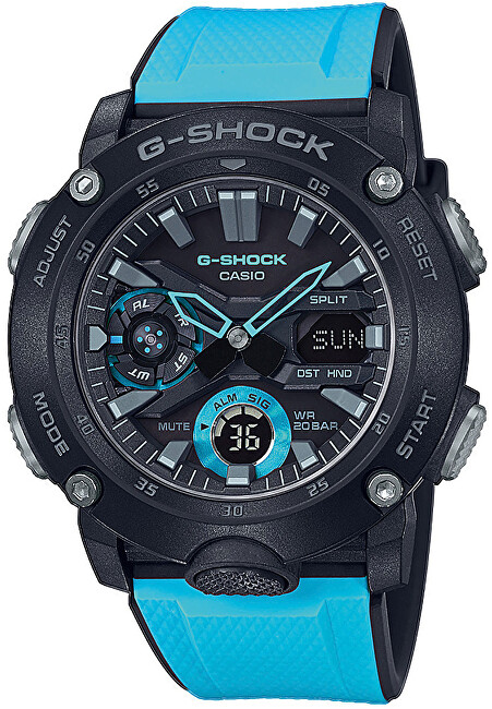 Casio G-Shock Carbon Core Guard GA-2000-1A2ER (633)