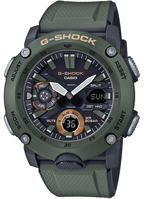 Casio G-Shock Carbon Core Guard GA-2000-3AER (633)