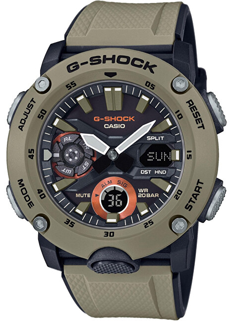 Casio G-Shock Carbon Core Guard GA-2000-5AER (633)