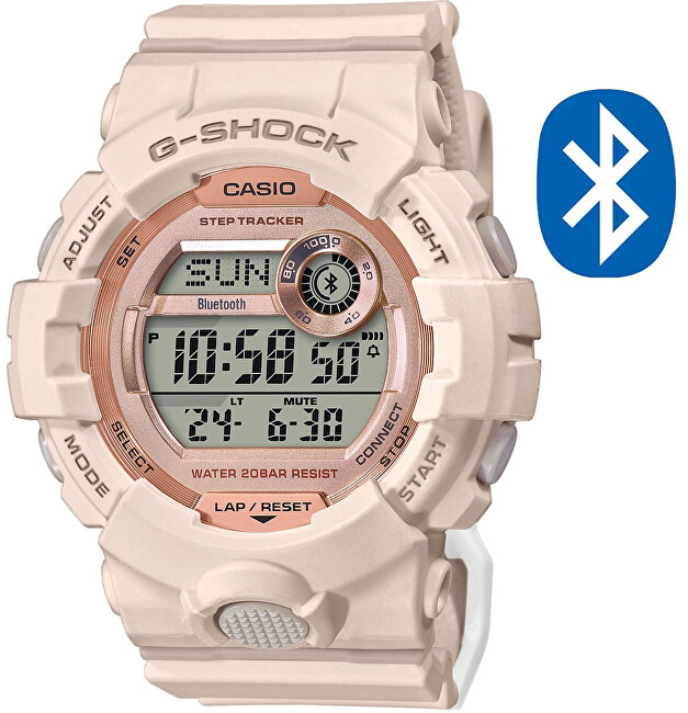 Casio G-Shock G-Squad Bluetooth Step Tracker GMD-B800-4ER (626)