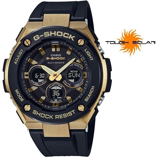 Casio G-Shock G-Steel GST-W300G-1A9ER Solar Rádiově řízené