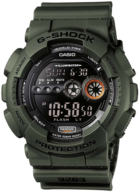 Casio The G-G-SHOCK GD-100MS-3ER