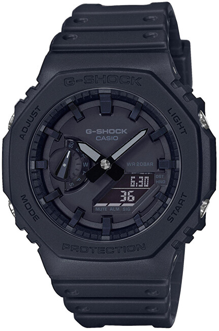Casio G-Shock Original Carbon Core Guard GA-2100-1A1ER