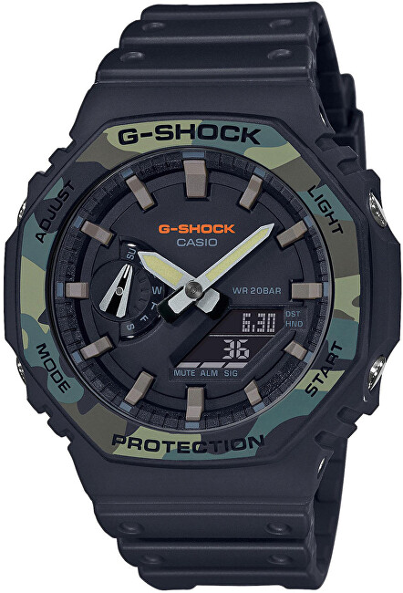 Casio G-Shock Original Carbon Core Guard GA-2100SU-1AER (619)