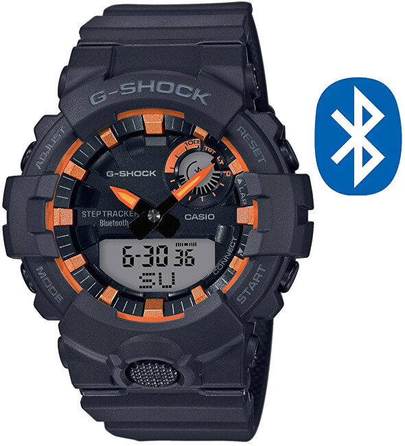 Casio GShock Step Tracker GBA800SF1AER 620