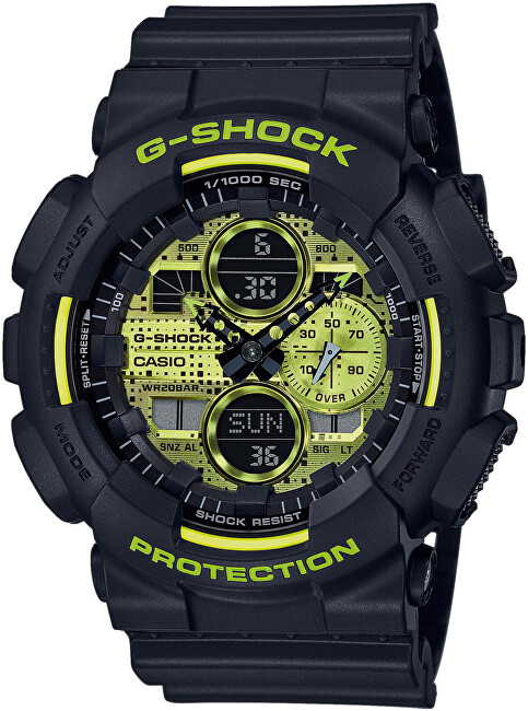 Casio The G G-Shock GA-140DC-1AER (411)