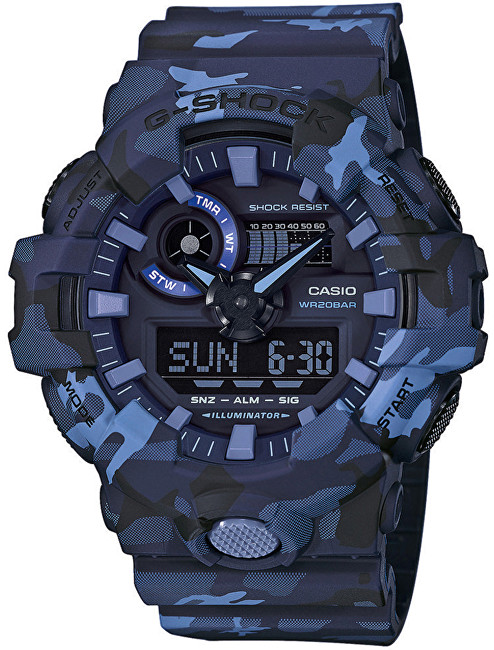 Casio The G/G-SHOCK GA 700CM-2A
