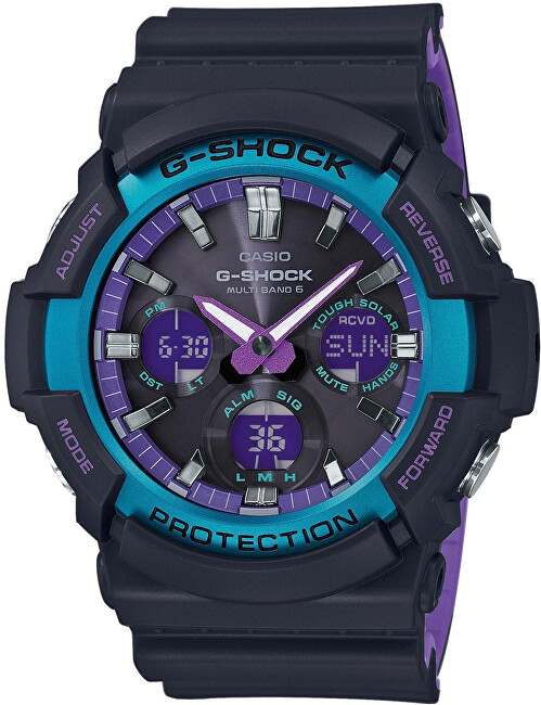 Casio The G G-SHOCK GAW-100BL-1AER Rádiovo riadené (445)
