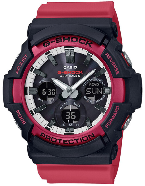 Casio The G G-SHOCK GAW-100RB-1AER Rádiovo riadené (445)