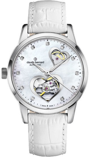 Claude Bernard Open Heart Automatic 85018 3 NAPN2