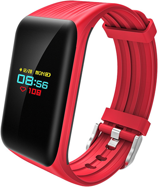 Cube1 Smart band DC28 Plus Red  SLEVA III