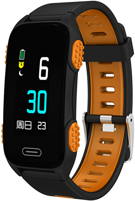 Cube1 Smart band LY116 Black-orange