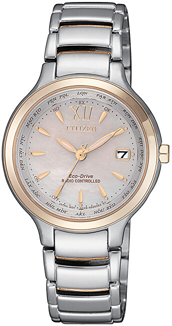 Citizen Eco-Drive Elegant Radio Controlled EC1174-84D