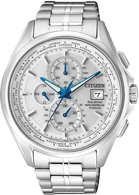Citizen Eco-Drive Radio Controlled Chrono Titanium AT8130-56A