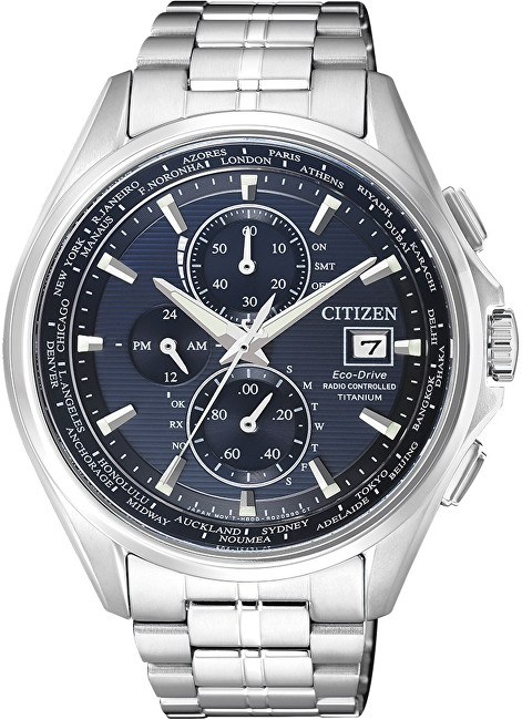 Citizen Eco-Drive Radio Controlled Chrono Titanium AT8130-56L