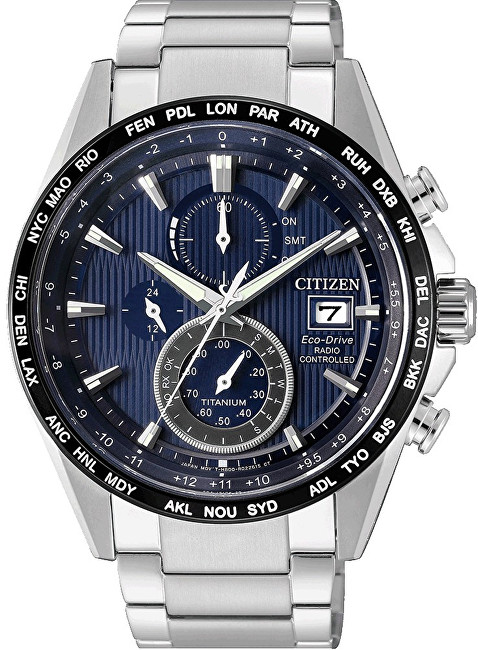 Citizen Eco-Drive Radio Controlled Super Titanium AT8154-82L