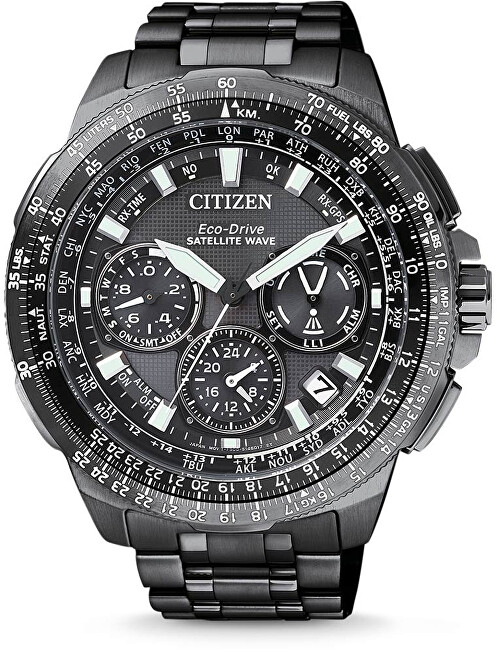 8e2b338bb3 Citizen Eco-Drive Satellite Wave GPS Super Titanium CC9025-51E