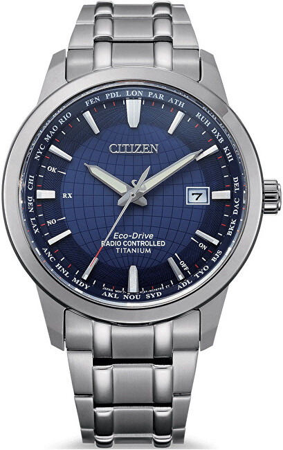 Citizen Eco-Drive Super Titanium Radio Controlled CB0190-84L