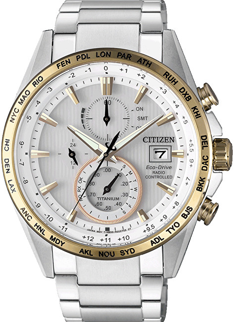 Citizen Eco-Drive Radio Controlled Super Titanium AT8156-87A