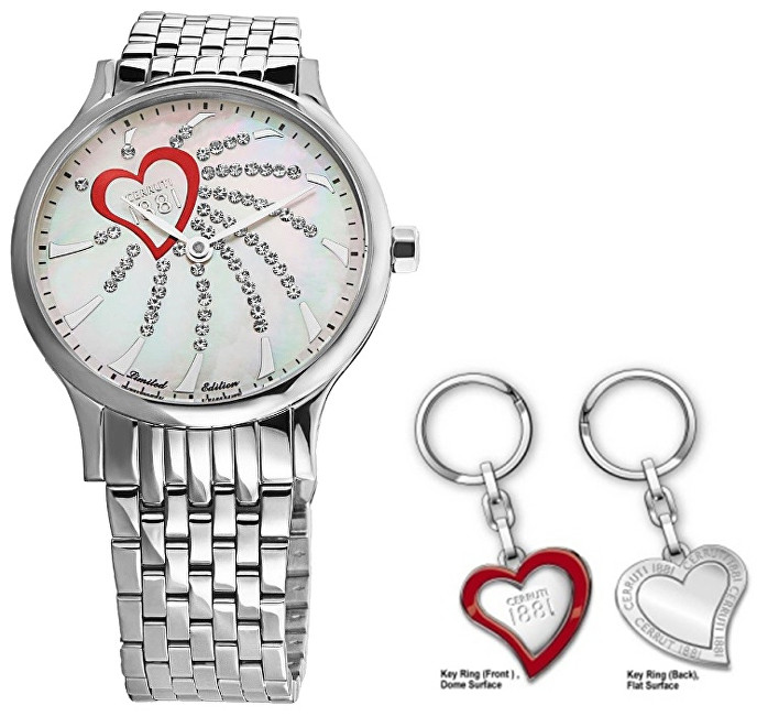 Cerruti 1881 Heart Model 2015 Be My Valentine