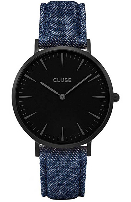 Cluse La Bohème Full Black-Denim Blue
