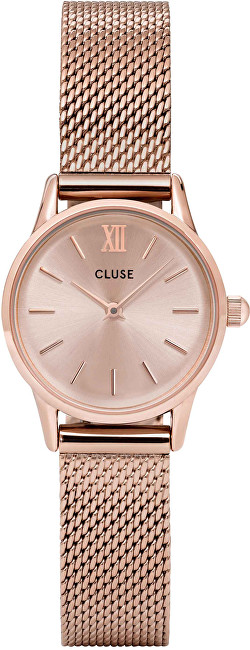 Cluse La Vedette Mesh Full Rose Gold CL50002