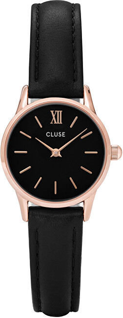Cluse La Vedette Rose Gold Black-Black CL50011