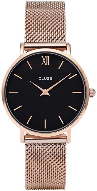 Cluse MinuitMesh Rose Gold/Black CL30016