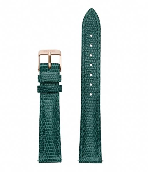 Cluse Řemínek Minuit Emerald Lizard/Rose Gold CLS369