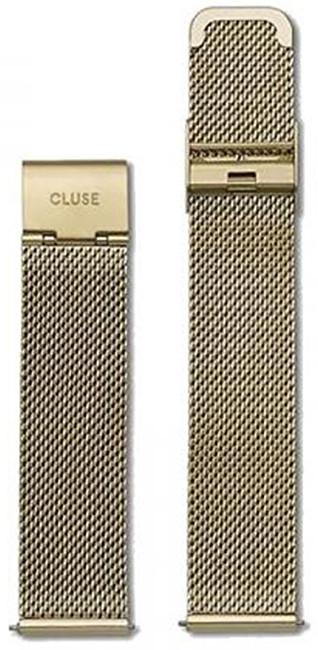 Cluse Milánský tah Minuit Mesh Gold CLS346