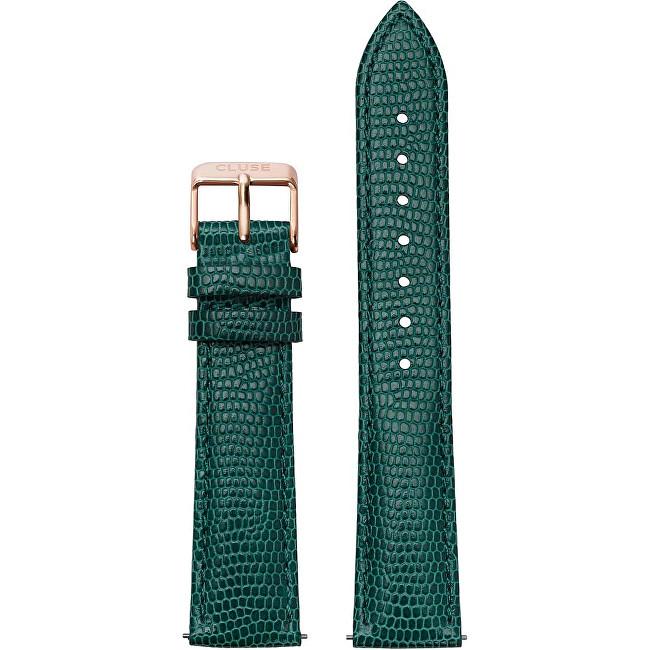 Cluse Řemínek La Bohème Emerald Lizard/Rose Gold CLS070