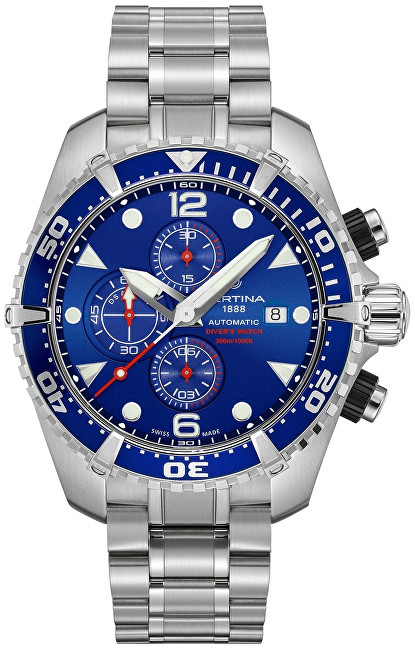 Certina AQUA COLLECTION - DS ACTION Chrono - Automatic C032.427.11.041.00