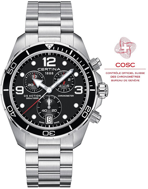 Certina DS ACTION Chronograph Chronometer C0324341105700
