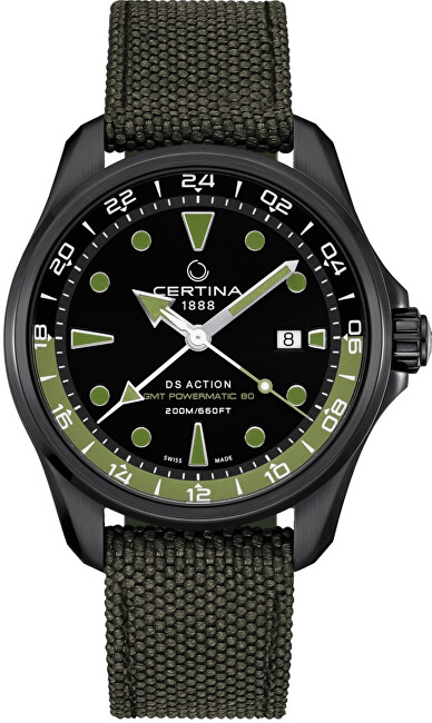 Certina DS Action GMT Powermatic 80 C032.429.38.051.00
