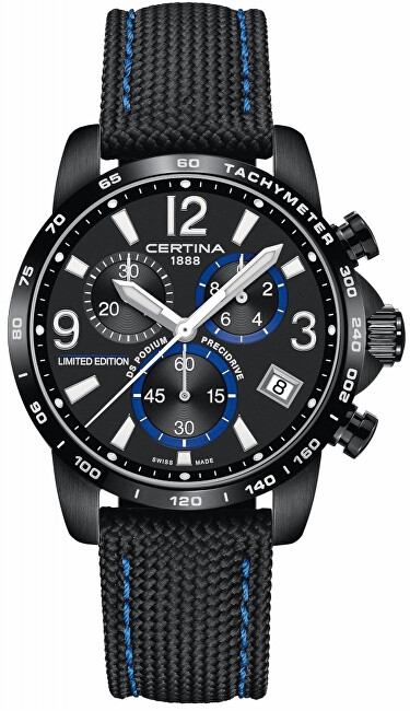 Certina DS PODIUM Chrono G10 Automatic Limited Edition Jeremy Seewer C034.417.38.057.10