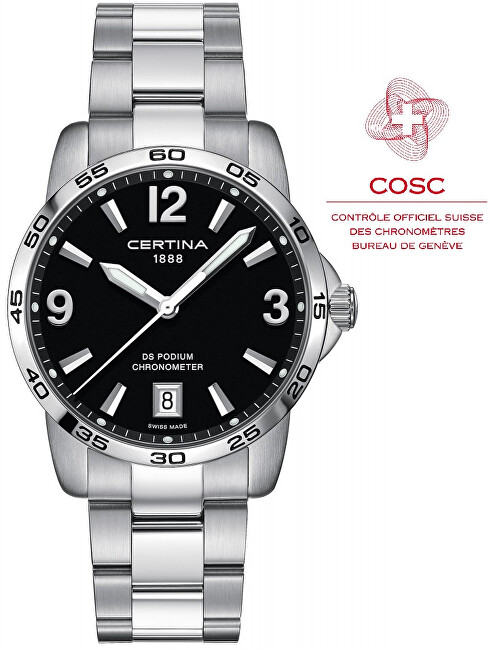 Certina DS PODIUM Chronometer C034.451.11.057.00