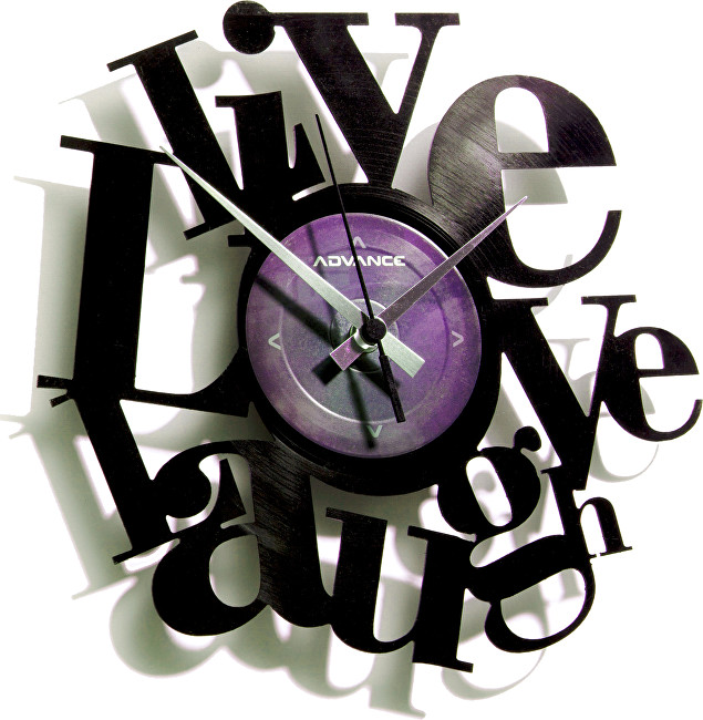 Discoclock 007 Live Love Laugh