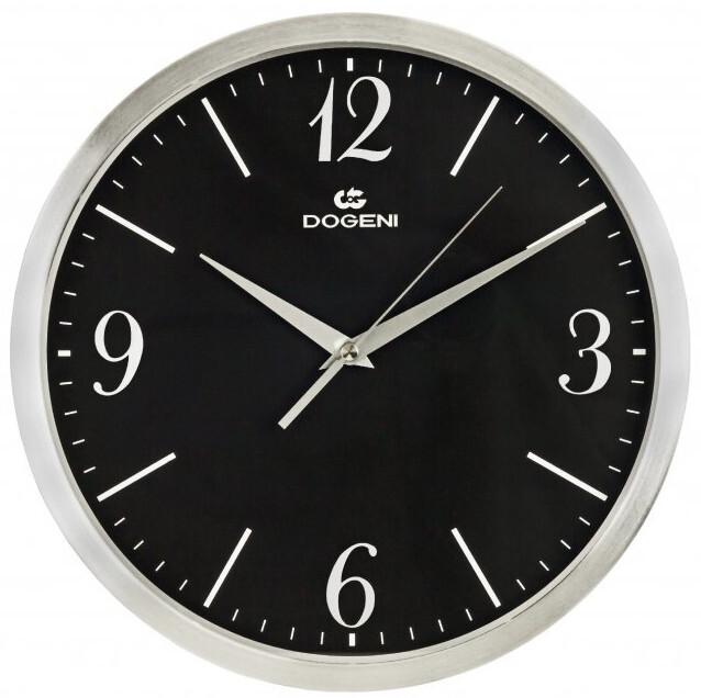DOGENI Nástěnné hodiny s tichým chodem WNM004SL