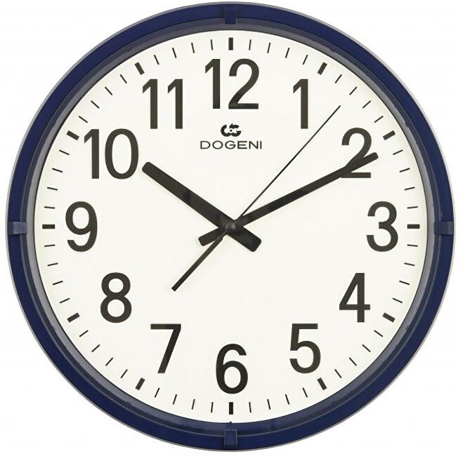 DOGENI Nástěnné hodiny s tichým chodem WNP003BU