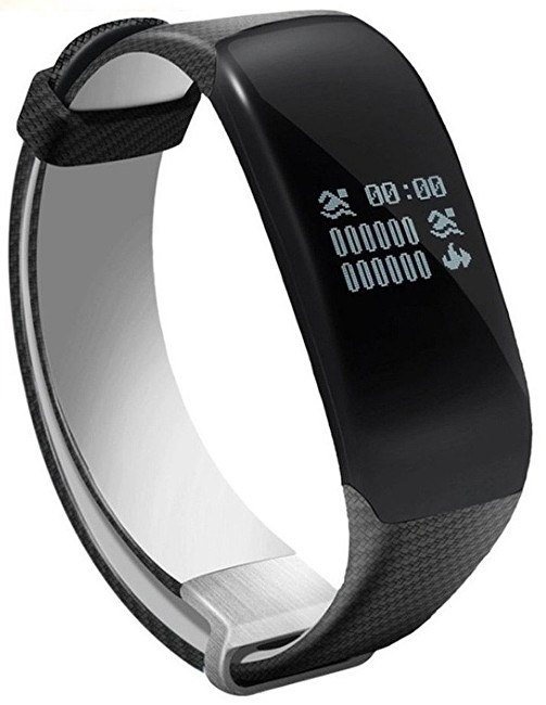 Deveroux Fitness náramek H5 BLACK