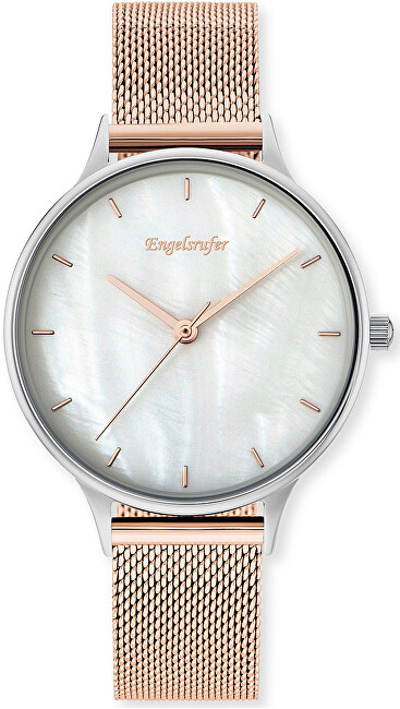 Engelsrufer Pearl Silver Rose Gold ERWA-PEARL-MRMS
