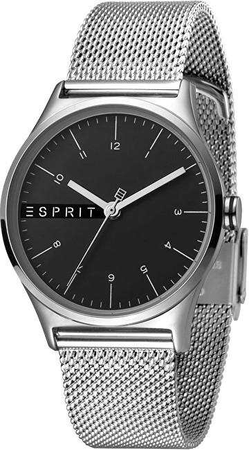 Esprit Essential Black Silver Mesh ES1L034M0065