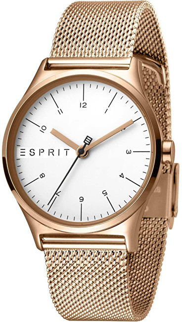 Esprit Essential Silver Rose Gold Mesh ES1L034M0085