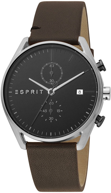 Esprit Lock Chrono Black Brown ES1G098L0015