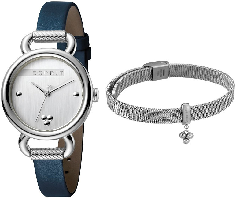 Esprit Play Silver Blue SET ES1L023L0015