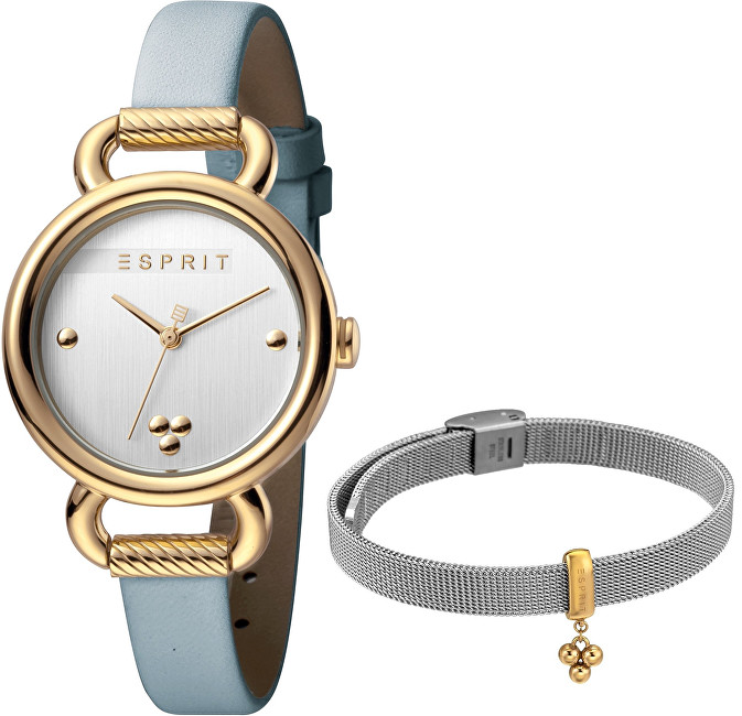 Esprit Play Silver L.Blue SET ES1L023L0025