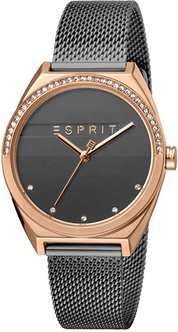 Esprit Slice Glam Anthracite Mesh ES1L057M0095