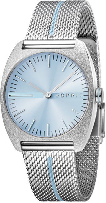 Esprit Spectrum Blue Stripe Mesh ES1L035M0045