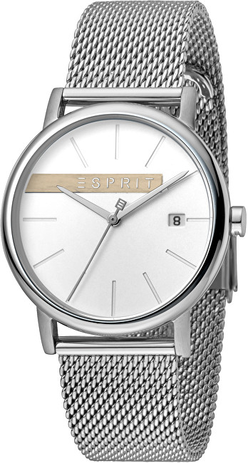 Esprit Timber Silver Mesh ES1G047M0045