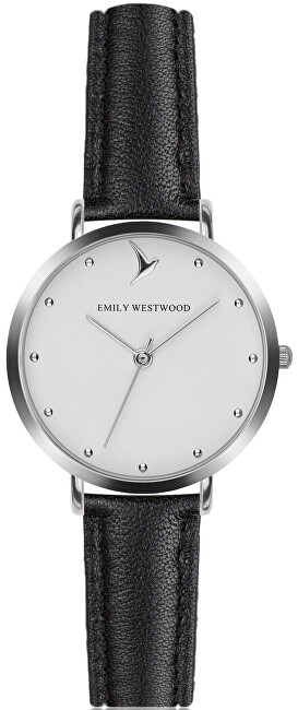 Emily Westwood Classic Silver Black EAN-B029S